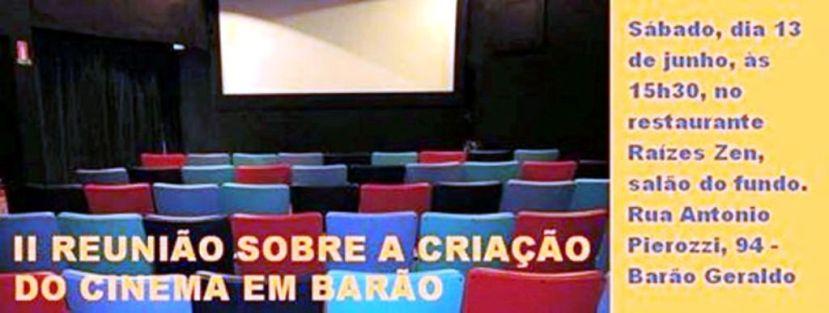 Reunião CInema DE NOVO