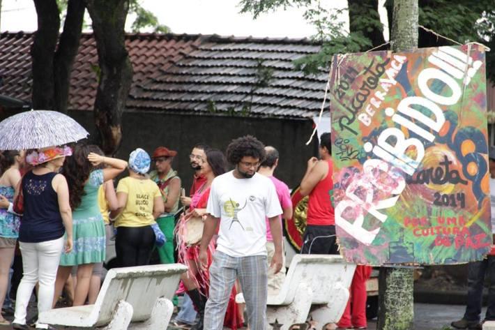 protesto ocorrido contra a proibição de 2014