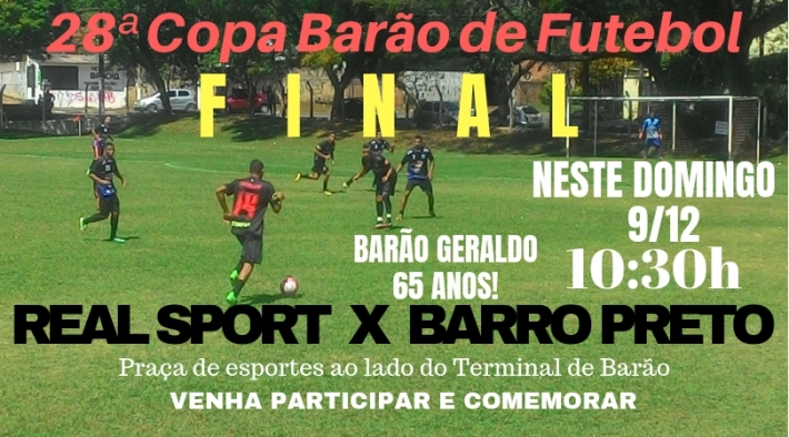 28ª COpa Barão de Futebol (1)