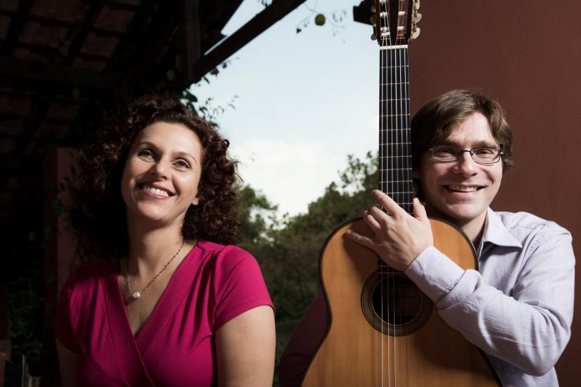 Ana Salvagni e Eduardo Lobo